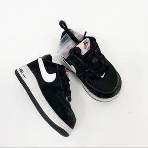 Nike Air Force One Infant Black White